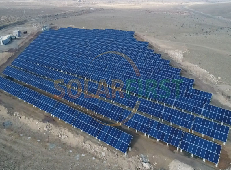 1.5MW Solar Ground Mounting Project in Armenia