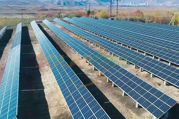 2MW Solar Ground Mounting Project in Armenia 2019